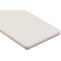 "1/4"" x 48"" x 96"" White King MediGrade® Antimicrobial Sheet"