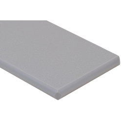 "1/4"" x 48"" x 96"" Gray King MediGrade® Antimicrobial Sheet"