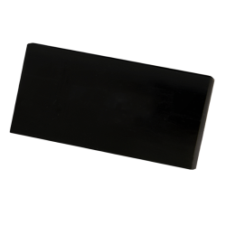 ".75"" x 48"" x 120"" Black King Hy-Pact® Sheet"