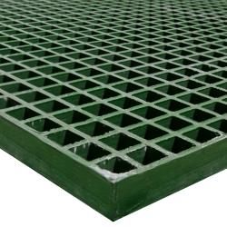 """48"""" x 96"""" Corvex® Green; 1-1/2"""" x 1-1/2"""" Mesh x 1-1/2"""" Thick"""