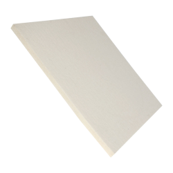 "1/2"" x 12"" x 12"" SAE F5 Pressed Felt Square- Off White"