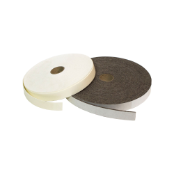 "1/8"" x 1"" x 25' SAE F3 Felt Strip- Brown"