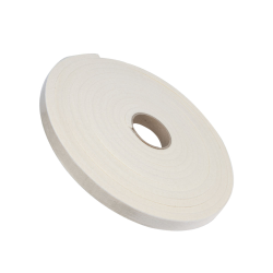 "1/2"" x 1"" x 25' SAE F5 Felt Strip- Off White"