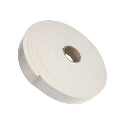 "1/2"" x 2"" x 25' SAE F5 Felt Strip- Off White"