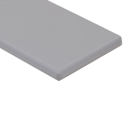 "1/4"" x 48"" x 96"" Dolphin Gray King StarBoard® ST HDPE Sheet"
