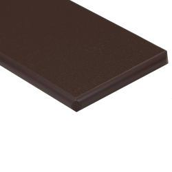 "1/2"" x 24"" x 48"" Mocha Brown King StarBoard® ST HDPE Sheet"