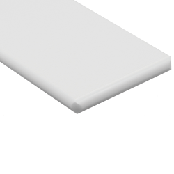 "1/2"" x 24"" x 48"" White King StarBoard® ST HDPE Sheet"