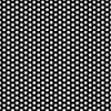 "3/16"" x 24"" x 48"" Gray PVC Perforated Sheet with Staggered Rows - 3/16"" Holes on 5/16"" Centers"