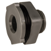 "1/2"" Loose PVC Tank Fitting with Santoprene® Gaskets - 1-1/8"" Hole Size"