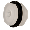 "1/4"" Loose Polypropylene Tank Fitting with Santoprene® Gaskets - 1-1/8"" Hole Size"