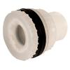 "1/2"" Loose Heavy Duty Polypropylene Fitting with Santoprene® Gasket SKT x THD - 1-1/4"" Hole Size"