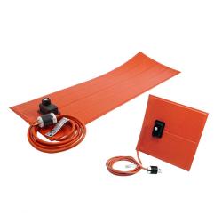 BriskHeat® Silicone Rubber Heating Blanket for Plastic Vessels