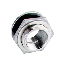 Banjo® Stainless Steel Bulkhead Fittings with EPDM Gaskets