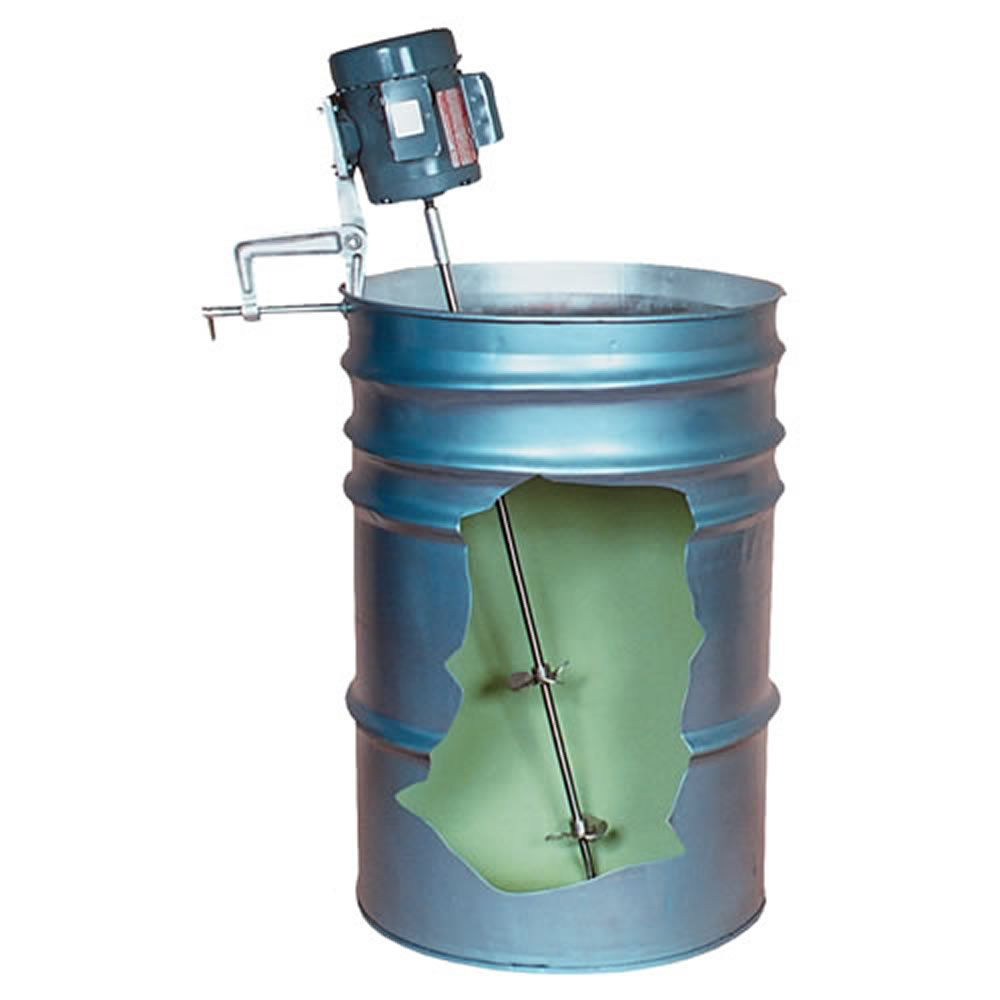 2 Blade Tamco® Mixer with 1/3 HP, Open Drip-Proof Motor 1/2 Motor Shaft