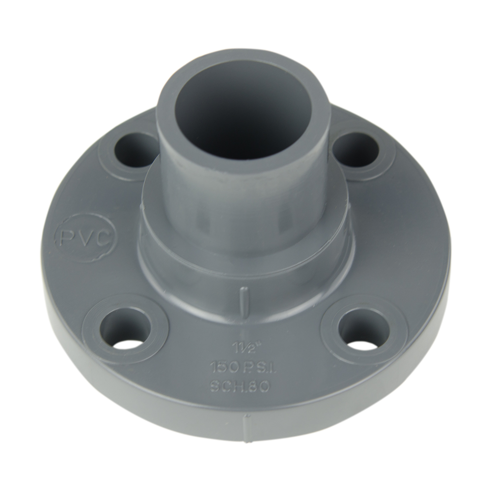 "1-1/2"" PVC BVX Series Ready Flanges"