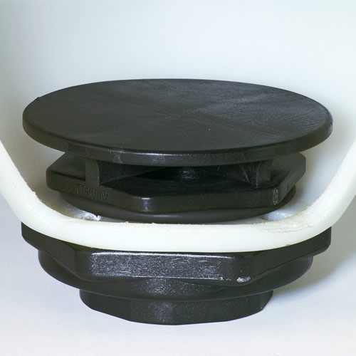 "1"" Anti Vortex Tank Flange with FKM Seal"