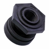 "1/2"" Polypropylene Bulkhead with Santoprene™ Gasket"