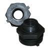 """3/4"""" Polypropylene Bulkhead with Santoprene® Gasket"""