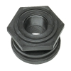 "1-1/2"" Polypropylene Bulkhead with Santoprene™ Gasket"
