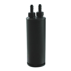 "60cc Carbon Canister for 1 Gallon Tanks - 1/4"" Tank Port x 1/4"" Purge Port"