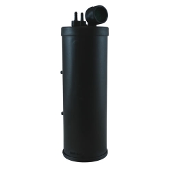 "550cc  Carbon Canister for 7 & 8 Gallon Tanks - 1/4"" Tank Port x 3/16"" Purge Port"