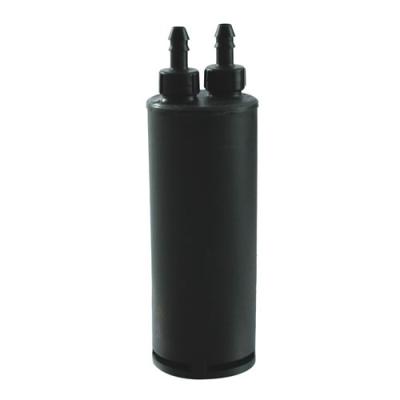 "60cc Carbon Canister for 1 Gallon Tanks - 1/4"" Tank Port x 1/4"" Purge Port"