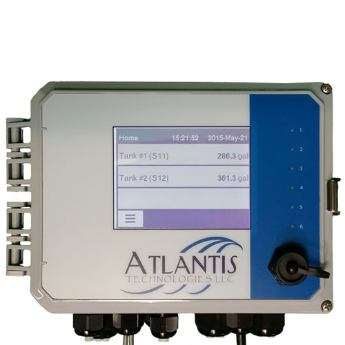 Digital 2 Tank Level Indicator with Ethernet