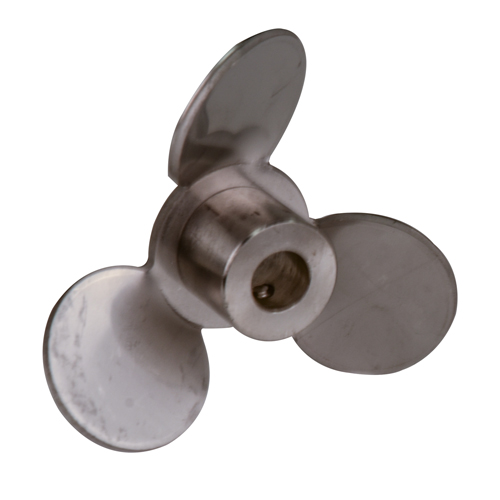 "4"" Propeller Blade Pull Type, 316 SS 1/2"" Bore for Super Mixer"