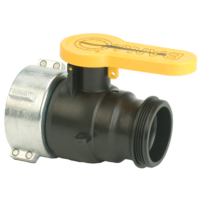 "2"" Valve with QDC Outlet & Santoprene® Gasket"