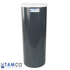 "Gray PVC Plating Tank - 8"" Dia. x 22"" High"