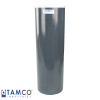 "Gray PVC Plating Tank - 8"" Dia. x 26"" High"