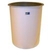 Cylindrical Flat Bottom, Open Top Fiberglass