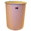 Cylindrical Flat Bottom, Open Top Fiberglass