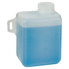 """0.75 Quart Natural Multi Purpose Tank with Mounting Tabs - 5.53"""" L x 3"""" W x 4.5"""" Hgt. (1.625"""" Neck)"""