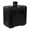 "7 Gallon Black Multi Purpose Tank - 15"" L x 8.67"" W x 16.74"" Hgt. (3.5"" Neck)"