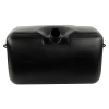"8 Gallon Black Multi Purpose Tank - 22.4"" L x 10.28"" W x 10.91"" Hgt. (2.25"" Neck)"