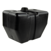 "4 Gallon Black Tank 14"" L x 7.5"" W x 10.62"" Hgt. (2.25"" Neck)"