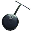 "2-1/4"" Vented Polyethylene Washer Cap with Tether & Washer Symbol"