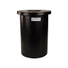 "10 Gallon Black Crock with Cover - 13"" Dia. x 20"" High"