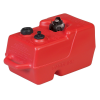 3 Gallon Red Polyethylene Portable Fuel Tank