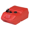 6 Gallon Red Polyethylene Portable Fuel Tank