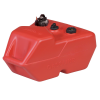 6 Gallon Red Polyethylene Narrow Portable Fuel Tank