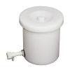 6 Gallon Tamco® Crock with Tubing & a Pinch Spigot
