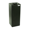 "15 Gallon Black Square Utility Tamco® Tank with 5"" Lid - 11-1/2"" L x 11-1/2"" W x 29"" Hgt."