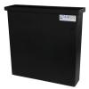 "3 Gallon Black Polyethylene Tank - 18"" L x 2"" W x 18"" H (Cover Sold Separately)"