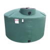 "1500 Gallon Green Water Tank - 64"" Dia. x 121"" H"