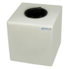 """7 Gallon Natural Molded Polyethylene Tank with Lid - 13"""" L x 12"""" W x 14"""" H"""