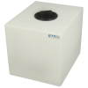 """16 Gallon Natural Molded Polyethylene Tank with Lid - 18.5"""" L x 15"""" W x 16"""" H"""
