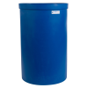 "55 Gallon Blue Heavy Wall Open Top Tank - 22-3/4"" Dia. X 36"" High"