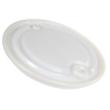 "18.5"" Replacement Lid with 2"" & 3/4"" NPS Bungs for Tamco® 30 Gallon Drums"
